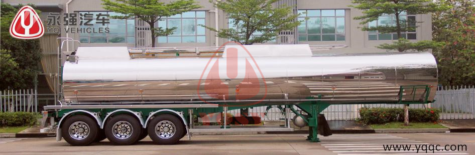 Insulation Tank Semi-Trailer