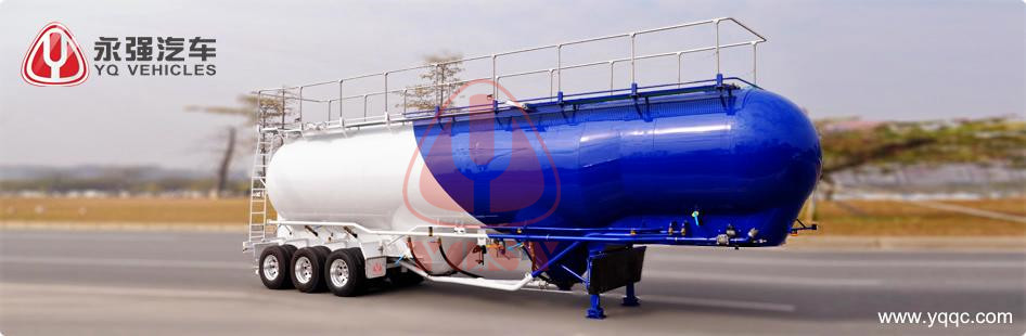 Food Powder Tank Semi-Trailer